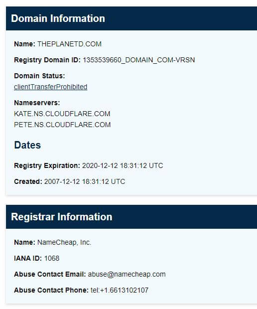 Find Domain Owners' Contact Information via ICANN Lookup